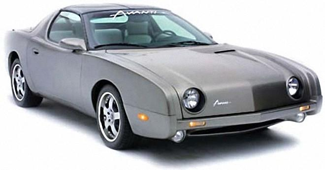 Front Right 2003 Avanti Sport Coupe Car Picture