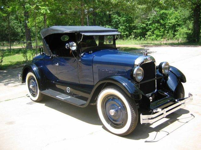 1927 Studebaker Roadster Car Picture