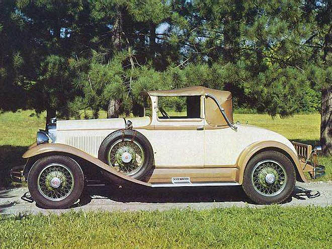 1929 Studebaker Model FH Car Picture