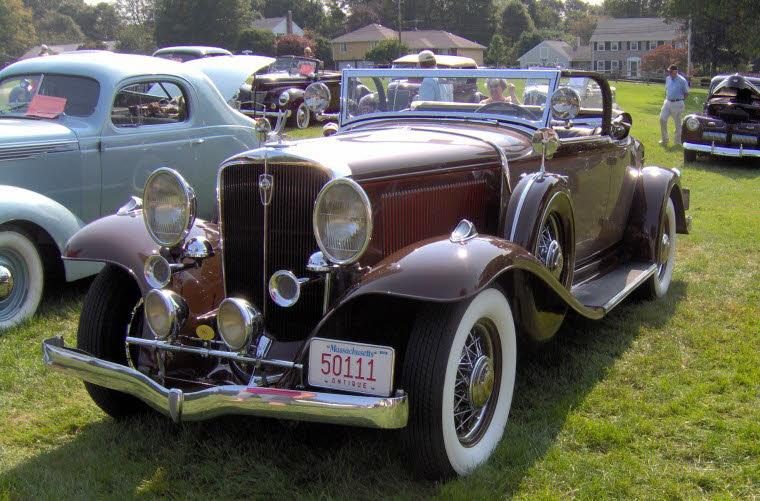 1931 Studebaker President Roadster Car Picture