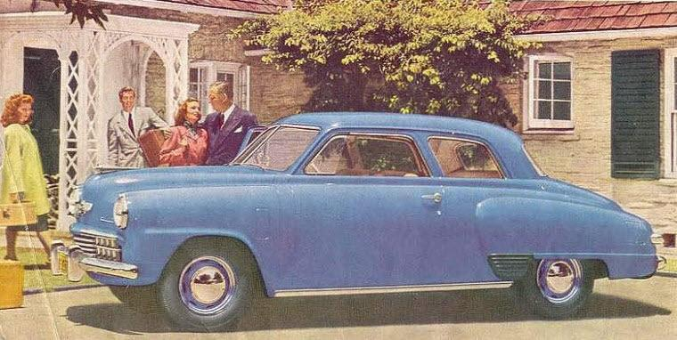Left Side Blue 1948 Studebaker Champion Car Picture