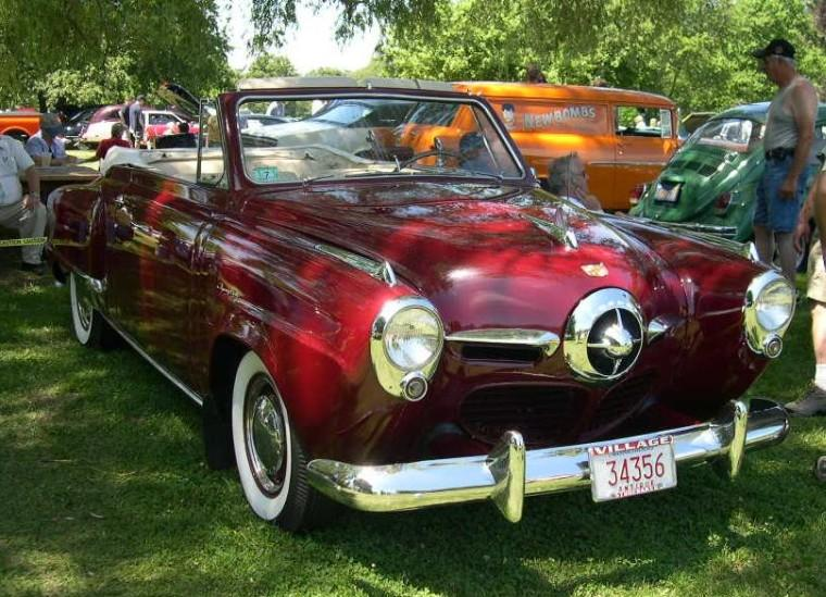 1950 Studebaker Commander Car Picture
