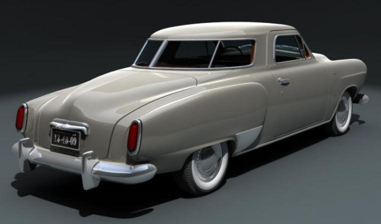 1950 Studebaker Starlight Car Picture