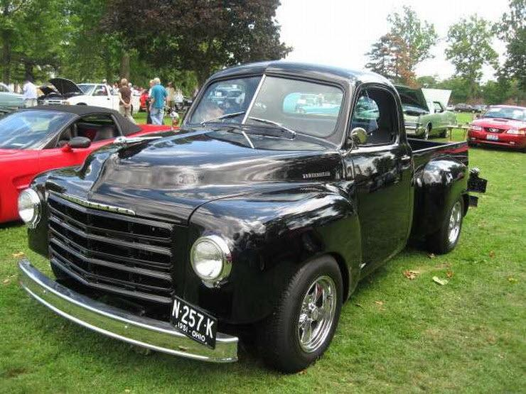 1952 Studebaker Pickup Truck Picture