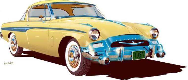 1955 Studebaker Commander Car Picture