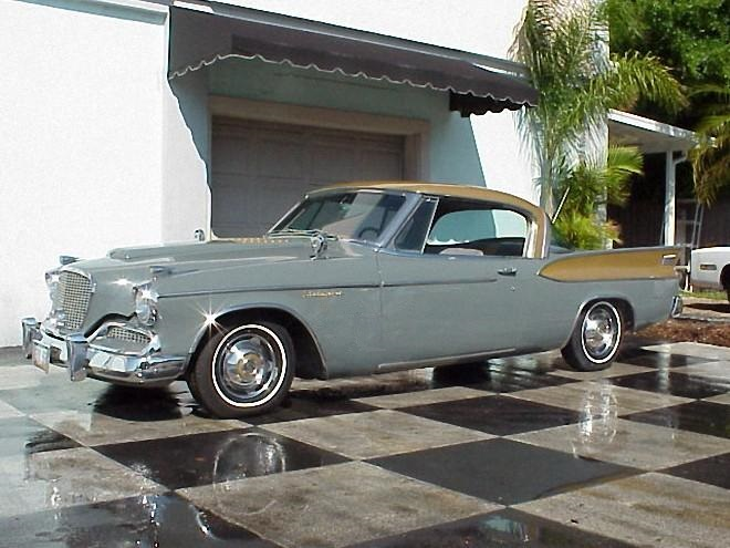 1958 Studebaker Golden Hawk Car Picture