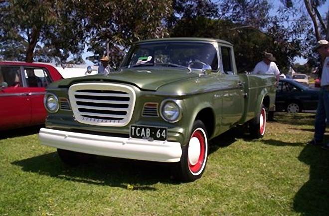 1964 Studebaker Champ Pickup Truck Picture