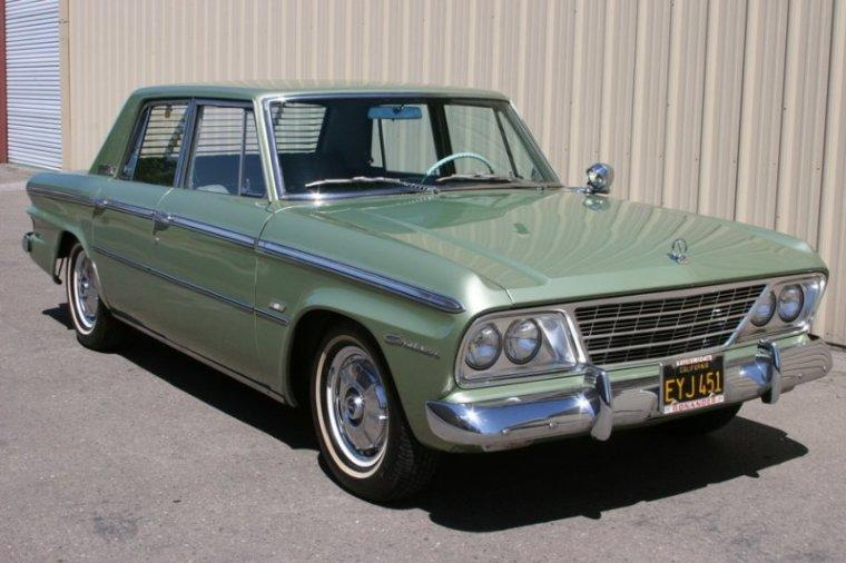 Front Right Green 1964 Studebaker Cruiser Car Picture
