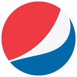 Flaired Pepsi-Cola Logo Picture